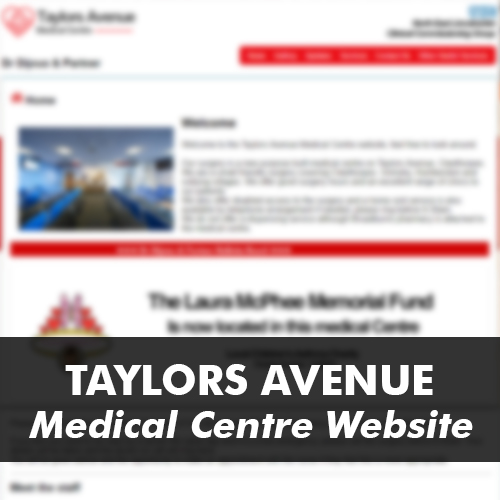 Taylors ave medical site
